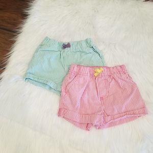 Carter's shorts bundle